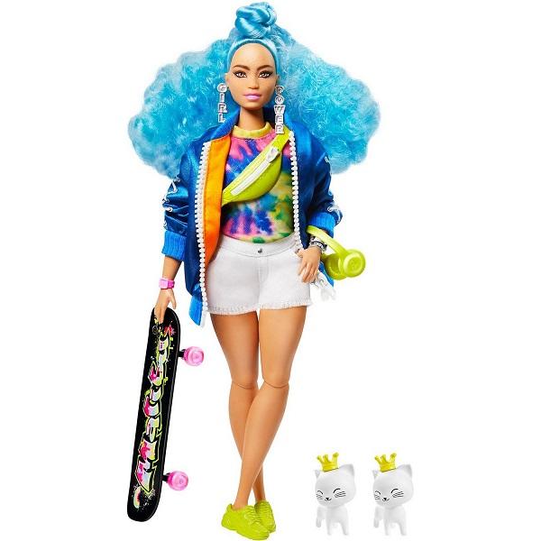 Mattel Barbie GRN30 Барби Кукла с голубыми волосами
