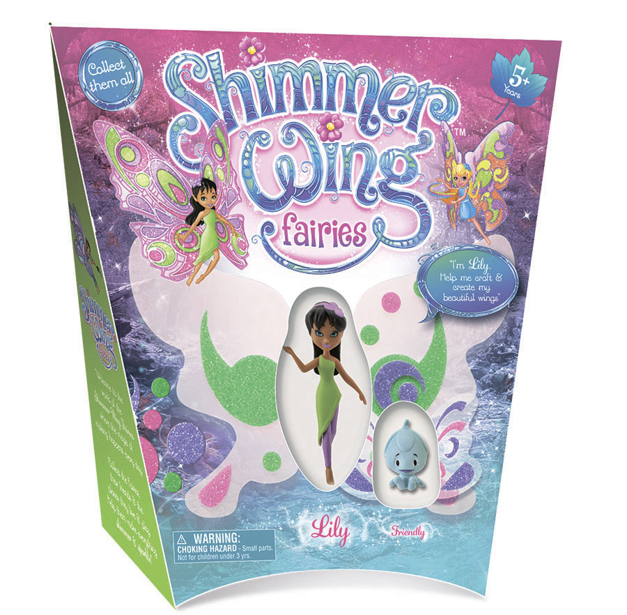 Кукла Фея Лили Shimmer Wing упаковка