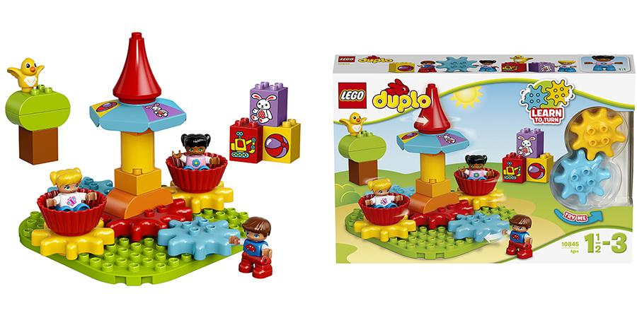LEGO DUPLO 10845 Лего Дупло Моя первая карусель