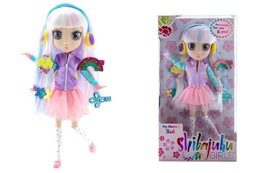 Shibajuku Girls HUN6619 Кукла Сури, 33 см