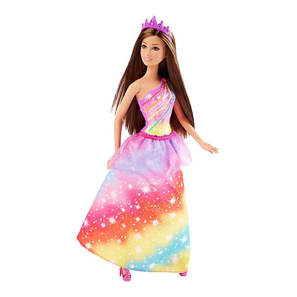 Barbie DHM52 Барби Кукла-принцесса радужного королевства