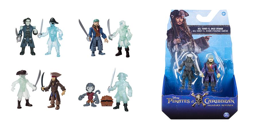 Pirates of Caribbean 73101-P 2 фигурки героев, в ассортименте