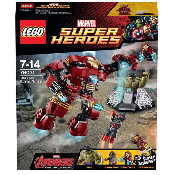 Lego Super Heroes 76031 Лего Супер Герои Разгром Халкбастера