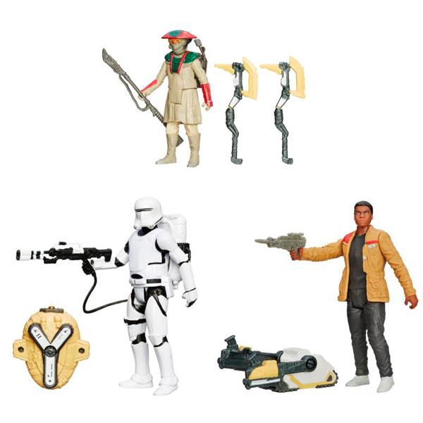 Star Wars B3963 Звездные Войны Фигурка 10 см Миссия в Пустыне/ Снежная миссия, в ассортименте