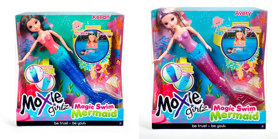 Moxie Мокси Русалочка Келлан (530978) и Эйвери (530961) упаковка
