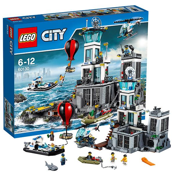 Лего Город Остров-тюрьма 60130