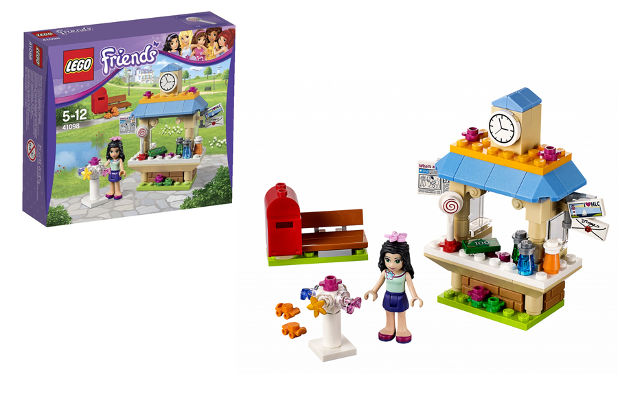 LEGO Friends Подружки 41098 Туристический Киоск Эммы