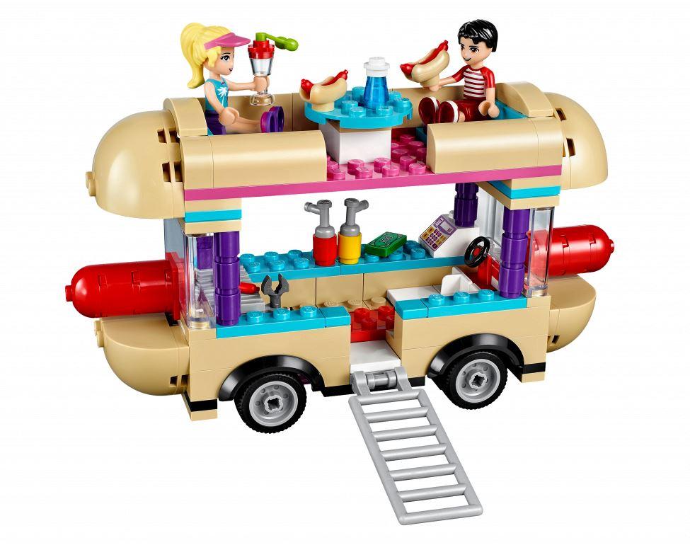 Lego Friends 41129 Лего Подружки Парк развлечений: фургон с хот-догами