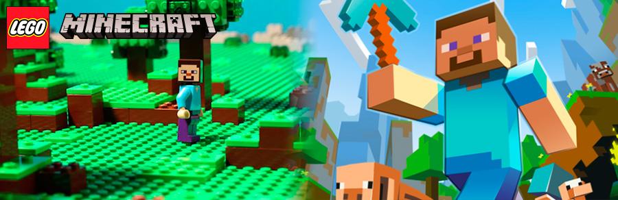 Лего майкрафт