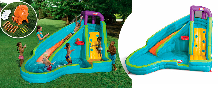 Little Tikes 632914 Надувной центр с мини-бассейном