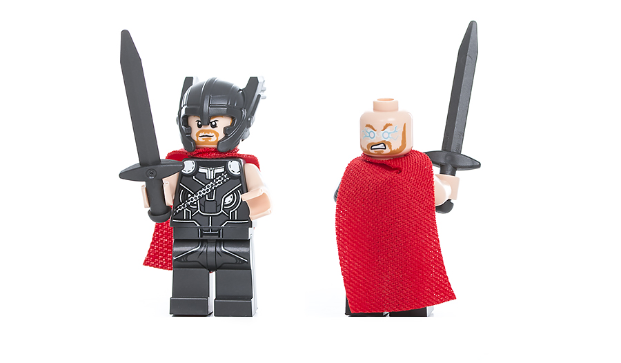 Конструктор LEGO Super Heroes 76084 Решающая битва за Асгард