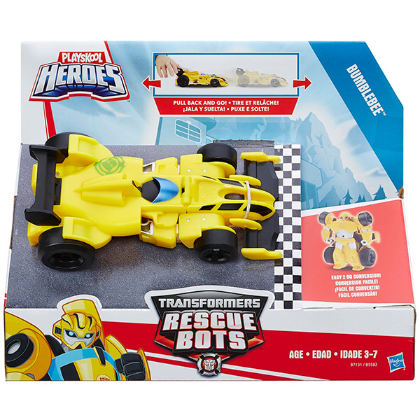 Playskool Heroes B5582 Трансформеры Спасатели: Гоночные машинки, в ассортименте