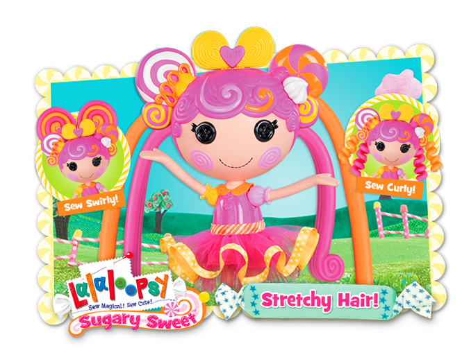 Lalaloopsy Stretchy Hair