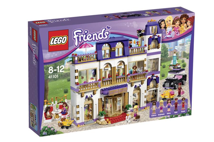 LEGO Friends 41101 Гранд-Отель в Хартлейк-Сити