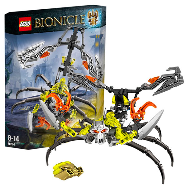 Lego Bionicle 70794 Лего Биониклы Череп-Скорпион
