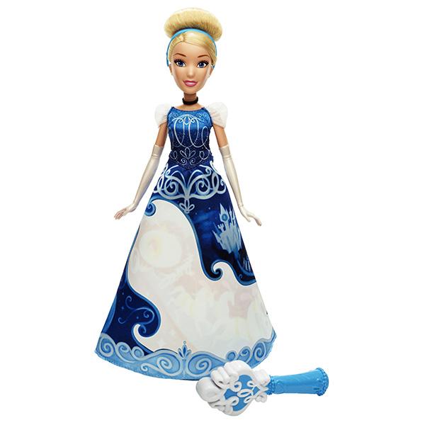 Hasbro Disney Princess B5299 Принцесса Золушка в юбке с проявляющимся принтом