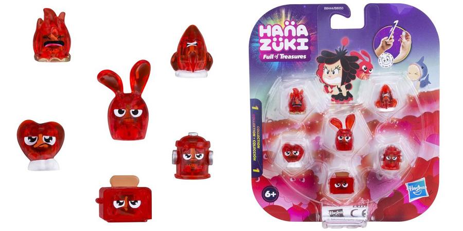 Hasbro Hanazuki B8053 6 фигурок-сокровищ в упаковке