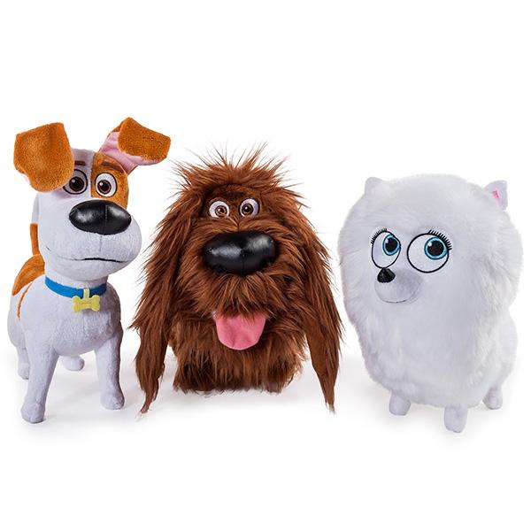 Secret Life of Pets 72805 Тайная жизнь домашних животных Плюш 30 см, в ассортименте
