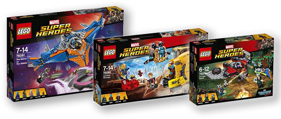 Три новинки марта 2017 года из серии LEGO Super Heroes