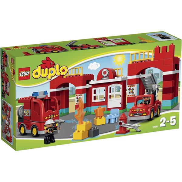 Lego Duplo 10593 Лего Дупло Пожарная станция коробка.jpg
