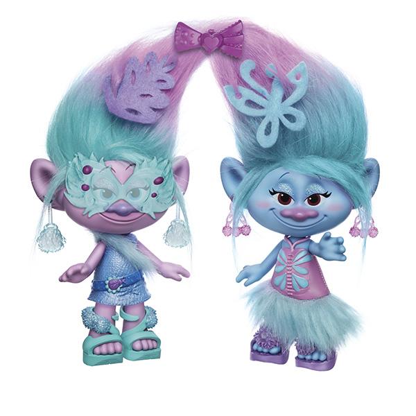 Hasbro Trolls B6563 Модные близнецы