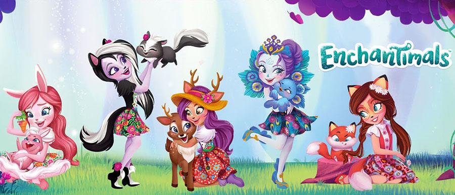 Новые куклы Enchantimals