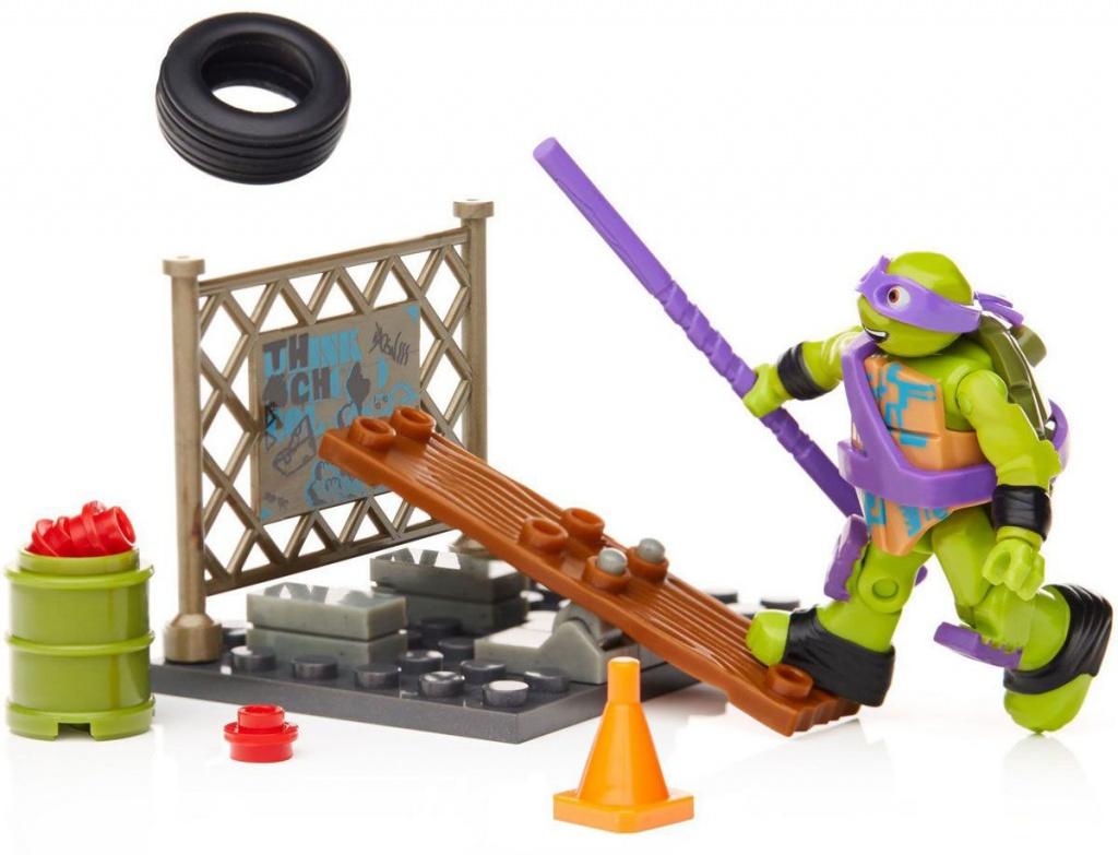 """Mattel Mega Bloks DMX26 Мега Блокс игровые наборы """"Тренировка черепашек"""", в ассортименте"""