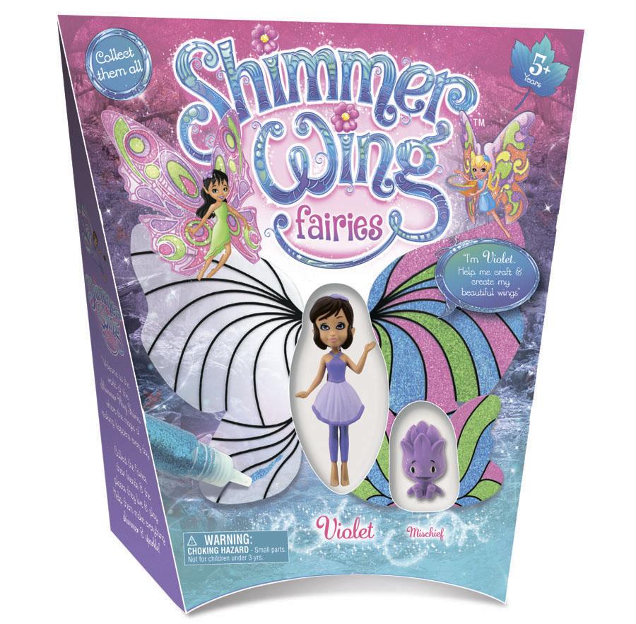 Кукла Фея Фиалка Shimmer Wing упаковка