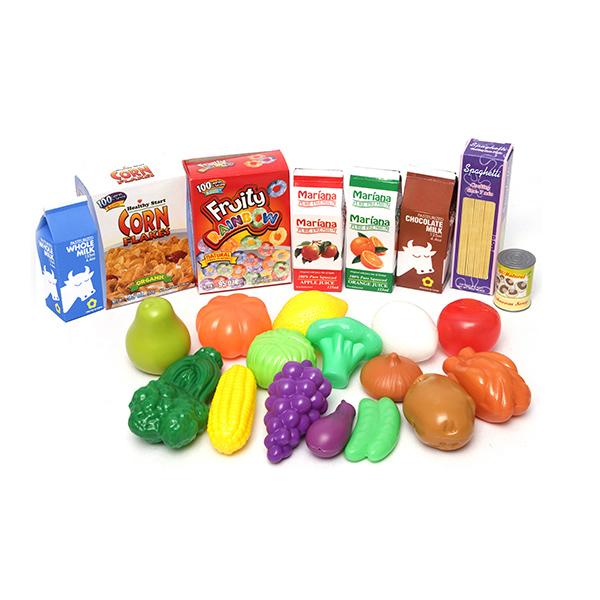 Boley 43804 Игровой набор Корзинка с продуктами 23 предмета