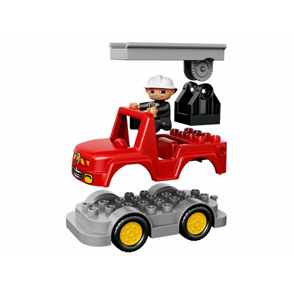 Lego Duplo 10593 Лего Дупло Пожарная станция машинка