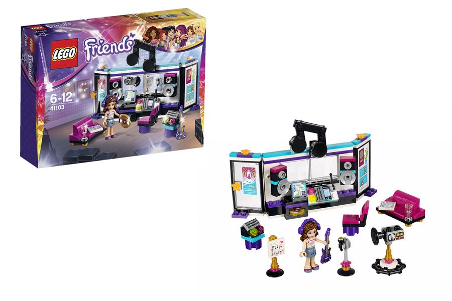 LEGO Friends Подружки 41103 Поп-Звезда Студия Звукозаписи