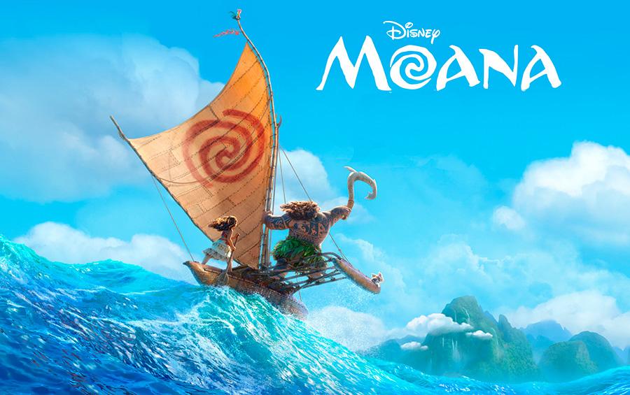 Мультфильм Моана Disney