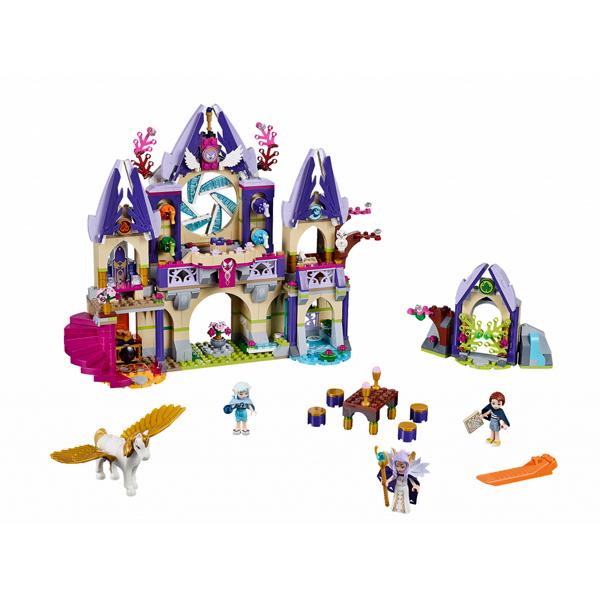 Lego Elves 41078 Лего Эльфы Воздушный замок Скайры в собранном виде