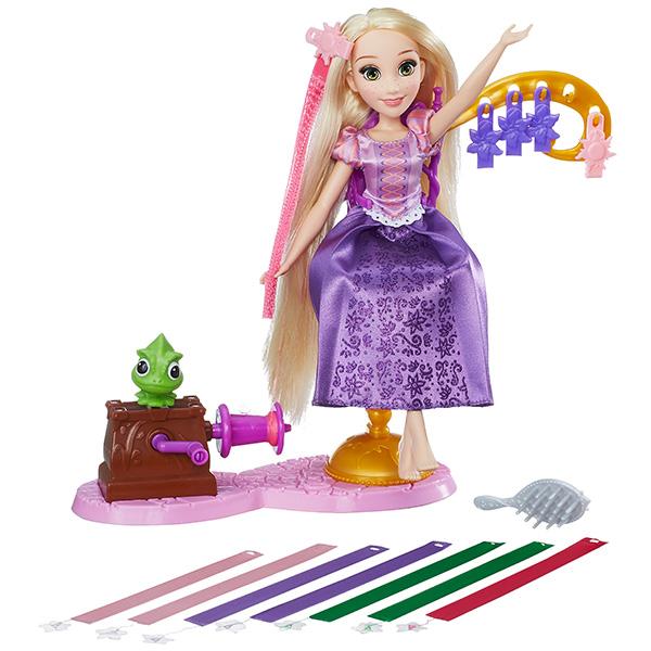 Disney Princess B6835 Модная Принцесса с длинными волосами и аксессуарами