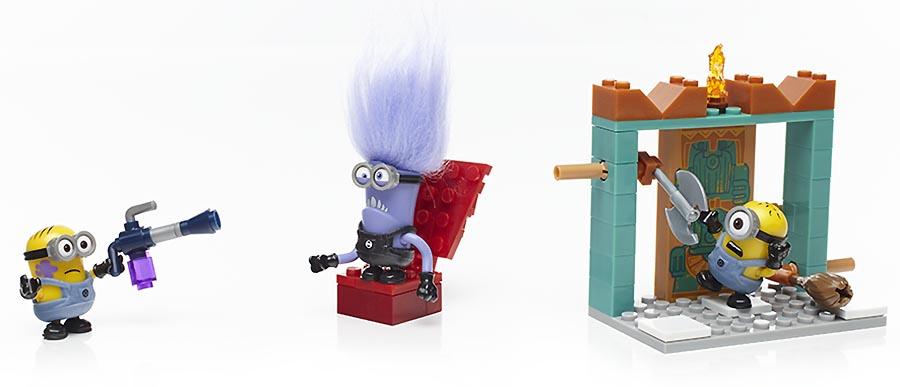 Mattel Mega Bloks DYD37 Мега Блокс Миньоны: набор конструктора с фигурками