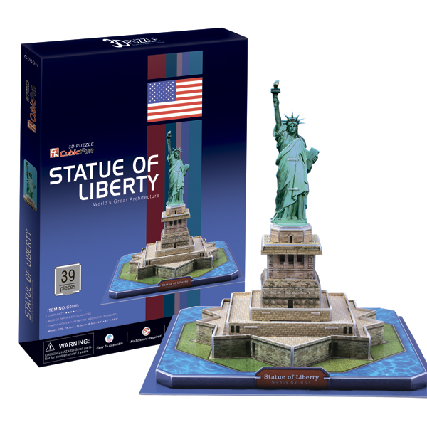 Cubic Fun C080h Кубик фан Статуя Свободы (США)