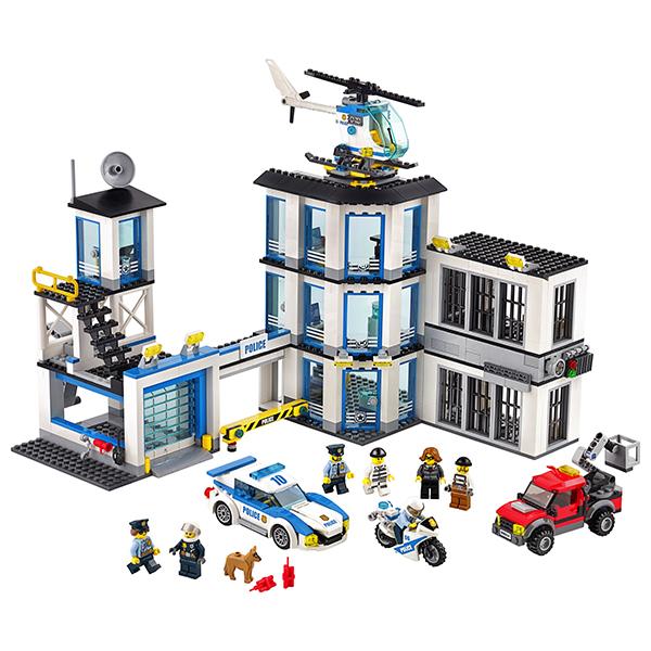 LEGO City 60141 Лего Город Полицейский участок