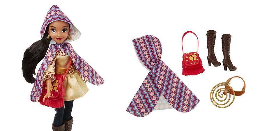 Hasbro Disney Princess C0378 Модная кукла Елена - принцесса Авалора в наряде для приключений