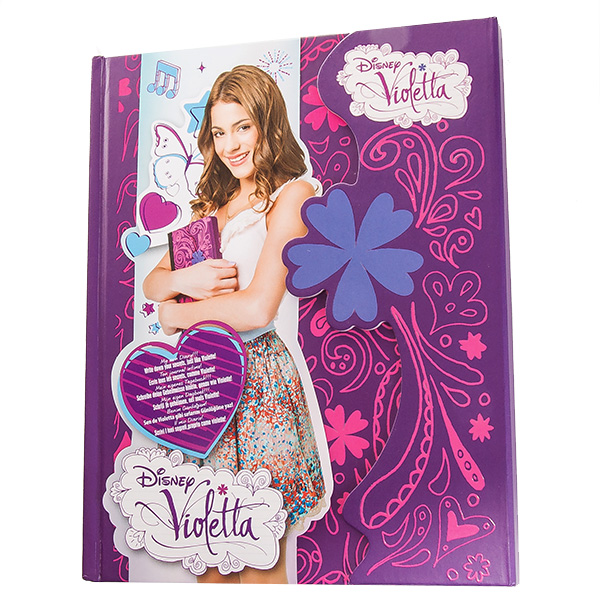 Дневник с магнитным замком Виолетта GPH86848
