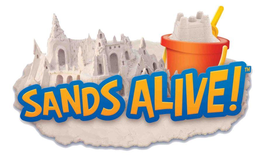 Песок-пластелин Sands Alive