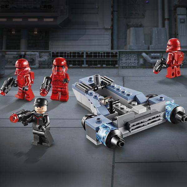 LEGO Star Wars 75266 Конструктор ЛЕГО Звездные войны Боевой набор: штурмовики ситхов
