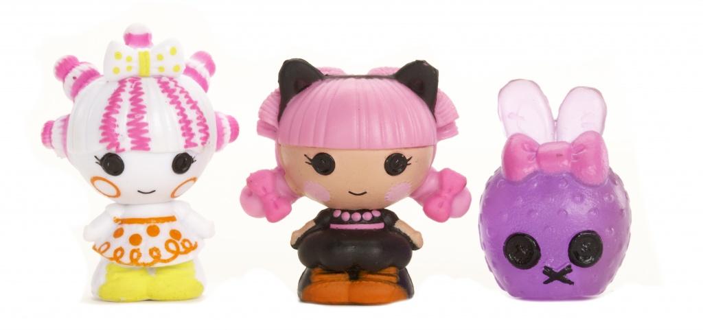Кукла Lalaloopsy Tinies 531517 Малютки в асс-те, уп-ка из 3 шт.