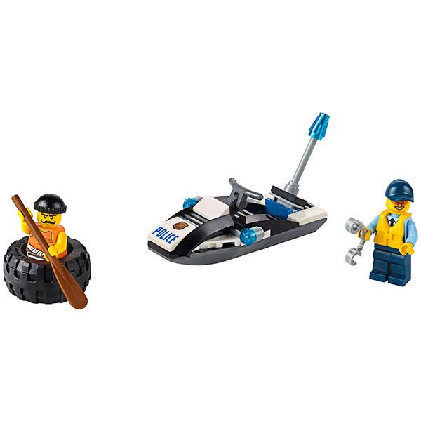 Лего Город Побег в шине 60126