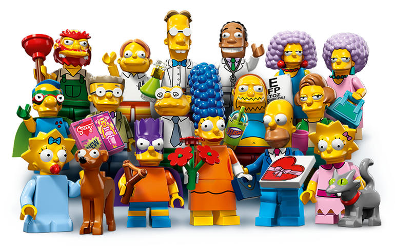 Lego Minifigures 71009 Лего Минифигурки LEGO® Simpsons, серия 16