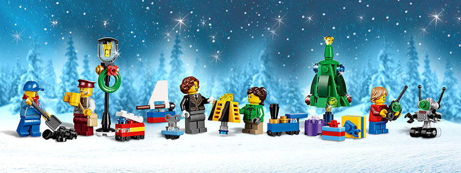 Новогодняя акция LEGO