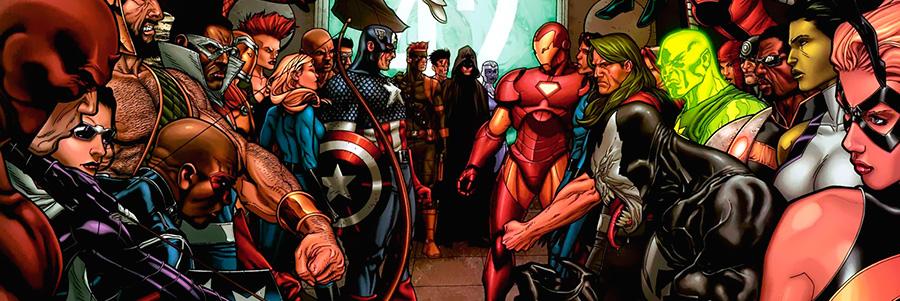 Марвел Супергерои Гражданская Война
