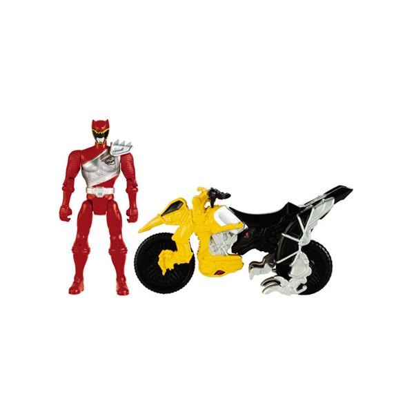 Power Rangers Dino Charge 42070 Пауэр Рейнджерс Мотоцикл + Фигурка 12 см, в ассортименте
