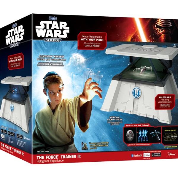 Интерактивная игрушка Star Wars Science 15204 Звездные Войны Форс Трейнер II
