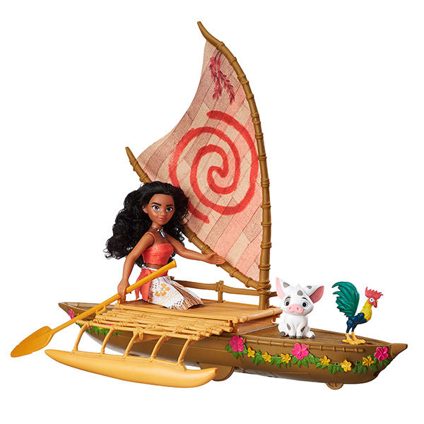 Hasbro Disney Princess B8308 Моана Игровой набор Моана в лодке