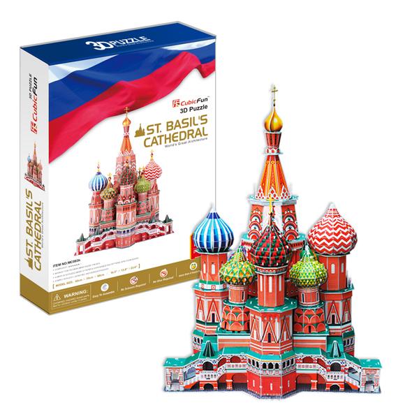 Cubic Fun MC093h Кубик фан Собор Василия Блаженного (Россия)